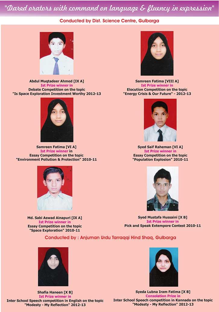budding scholars top schools in Gulbarga